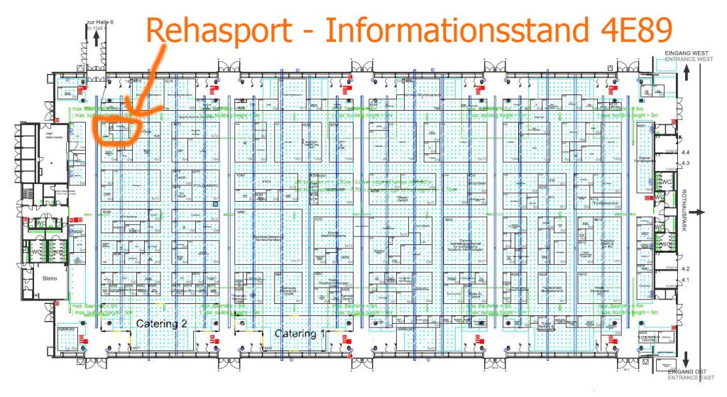 TheraPro 2019 - Rehasport Informationsstand 4E89